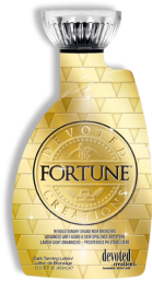 Fortune™ Revolutionary Grand Noir Bronzers This rich bronzing formula will not only produce magnificent dark results, but it will work to protect, tighten, tone and keep skin ultra-youthful with its exorbitant amount of advanced anti-aging properties. This affluent formula is multifaceted for the client that demands excellence.