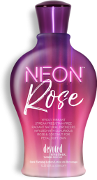 Neon Rose™ Streak-Free/Stain-Free Radiant Natural Bronzers Infused with Luxurious Rose & Coconut for Petal Soft Skin. This color captivating formula is perfect for the girl on the go! Exotic Japanese rose and rose hip seed oil will leave skin stunningly, silky smooth.