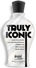Truly Iconic Empire Worthy Intensifier Luxury Long Lasting Color Legacy Embellished with White Charcoal & Ultra Rich Silicone This empire worthy intensifier will have you brunch-time-bronzed with no added self-tanners and standard setting, skin perfecting ingredients. Not to be petty, but know your worth... you were not made to be subtle, you were born to be Iconic!